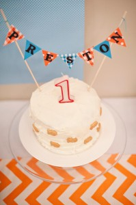 Fish Themed 1st Birthday Party via Kara's Party Ideas | Kara'sPartyIdeas.com #Goldfish #Fishing #PartyIdeas #Supplies (13)