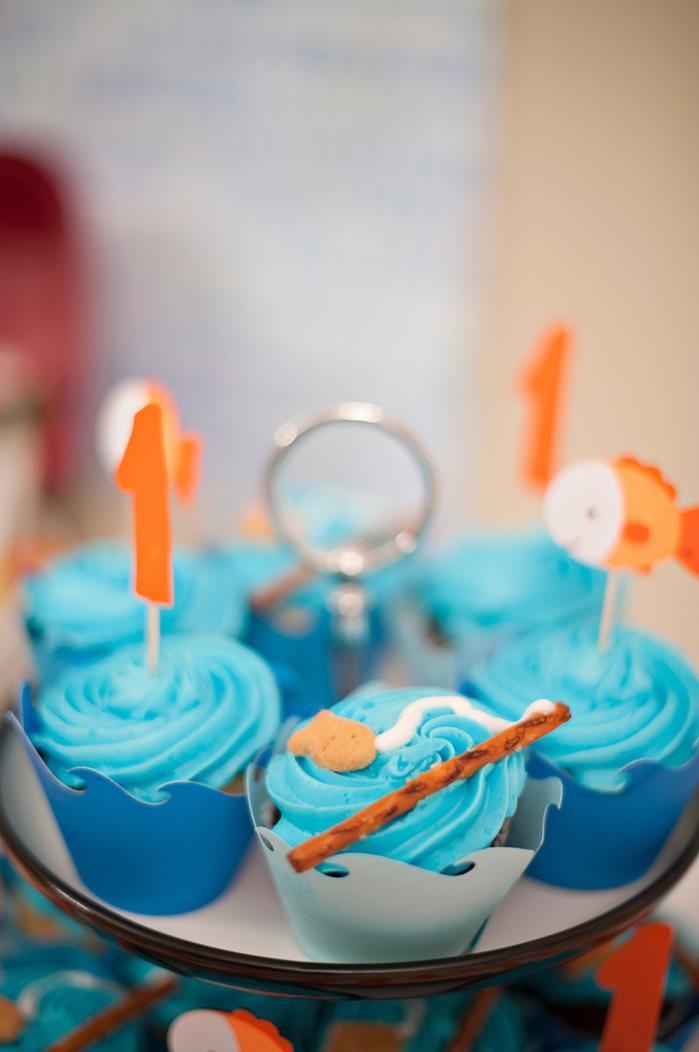 Kara S Party Ideas Fish Themed 1st Birthday Party Via Kara