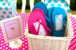 Flamingo Themed Pool Party via Kara's Party Ideas | Kara'sPartyIdeas.com #Summer #PoolParty #Party #Ideas #Supplies (33)