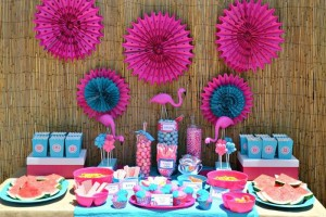 Flamingo Pool Party via Kara's Party Ideas | Kara'sPartyIdeas.com #SummerParty #Pool #Ideas #Supplies (10)