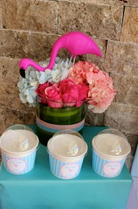 Flamingo Themed Pool Party via Kara's Party Ideas | Kara'sPartyIdeas.com #Summer #PoolParty #Party #Ideas #Supplies (11)