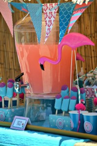 Flamingo Pool Party via Kara's Party Ideas | Kara'sPartyIdeas.com #SummerParty #Pool #Ideas #Supplies (5)