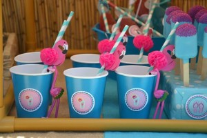 Flamingo Pool Party via Kara's Party Ideas | Kara'sPartyIdeas.com #SummerParty #Pool #Ideas #Supplies (3)