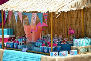 Flamingo Pool Party via Kara's Party Ideas | Kara'sPartyIdeas.com #SummerParty #Pool #Ideas #Supplies (2)
