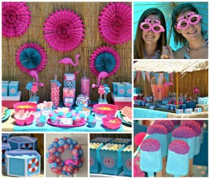 Flamingo Pool Party with SO MANY FUN IDEAS via Kara's Party Ideas | Kara'sPartyIdeas.com #SummerParty #Pool #Ideas #Supplies (23)