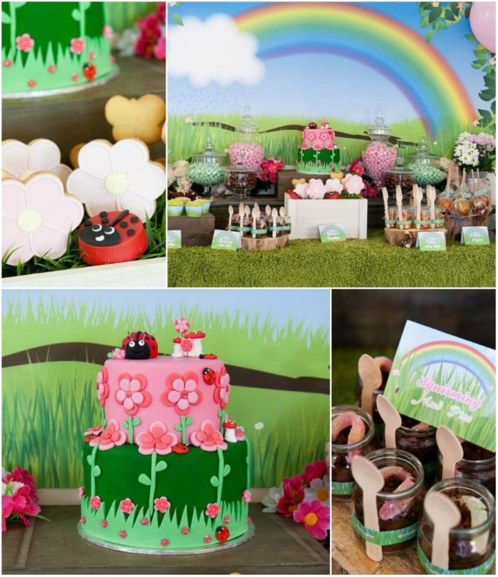 Kara's Party Ideas » Garden Party With Lots Of IDEAS Via