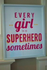 Girly Superhero Party via Kara's Party Ideas | Kara'sPartyIdeas.com #Birthday #PartyIdeas #Supplies #Girl (11)