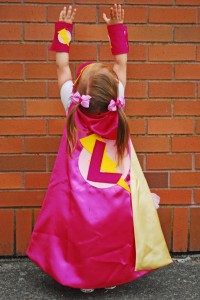 Girly Superhero Party via Kara's Party Ideas | Kara'sPartyIdeas.com #Birthday #PartyIdeas #Supplies #Girl (5)