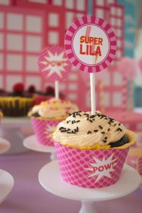 Girly Superhero Party via Kara's Party Ideas | Kara'sPartyIdeas.com #Birthday #PartyIdeas #Supplies #Girl (30)