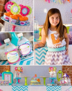 Glamping Party with CUTE IDEAS via Kara's Party Ideas Kara'sPartyIdeas.com #Camping #Sleepover #Party #Ideas #Supplies (11)
