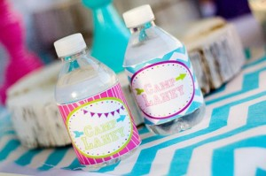 Glamping Party via Kara's Party Ideas Kara'sPartyIdeas.com #Camping #Sleepover #Party #Ideas #Supplies (3)