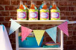 Glamping Party via Kara's Party Ideas Kara'sPartyIdeas.com #Camping #Sleepover #Party #Ideas #Supplies (22)