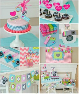 Instagram Inspired Party with SO MANY Cute IDEAS via Kara's Party Ideas | Kara'sPartyIdeas.com #SocialMedia #PartyIdeas #TweenParty #Supplies (1)
