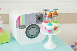 Instagram Inspired Party via Kara's Party Ideas | Kara'sPartyIdeas.com #SocialMedia #PartyIdeas #TweenParty #Supplies (6)