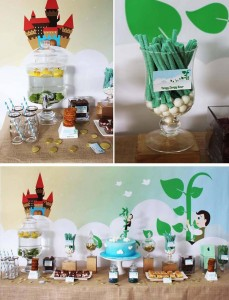 Jack in the Beanstalk Party with Lots of CUTE Ideas via Kara's Party Ideas Kara'sPartyIdeas.com #JackInTheBeanstalk #PartyIdeas #MagicBeans #Supplies #Fairytale (1)