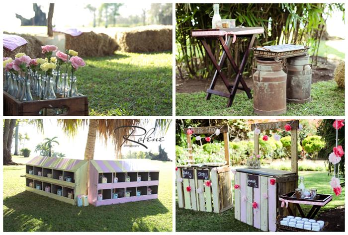 Kara 39 s party ideas pink lemonade stand full of darling for Rustic lemonade stand