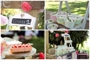 Pink Lemonade Stand with SUCH CUTE IDEAS via Kara's Party Ideas | Kara'sPartyIdeas.com #Rustic #LemonadeStand #PartyIdeas #Supplies (1)