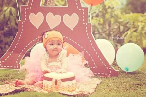Little Girl Themed 1st Birthday Party via Kara's Party Ideas Kara'sPartyIdeas.com #GirlParty #Ideas #Supplies #1stBirthdayParty (2)