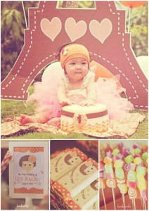 Little Girl Themed 1st Birthday Party with Lots of CUTE Ideas via Kara's Party Ideas Kara'sPartyIdeas.com #GirlParty #Ideas #Supplies #1stBirthdayParty (1)