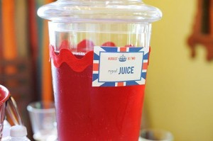 """London Calling""- A British Themed Birthday Bash via Kara's Party Ideas 