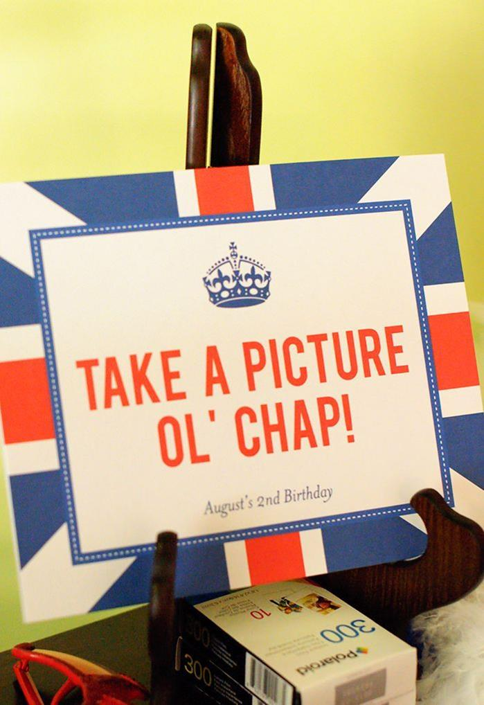 Kara S Party Ideas Quot London Calling Quot A British Themed