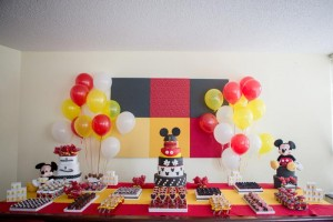 Mickey Mouse Party via Kara's Party Ideas | Kara'sPartyIdeas.com #MinnieMouse #Party #Ideas #Supplies (16)