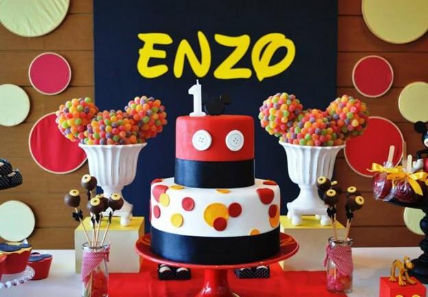 Mickey Mouse 1st Birthday Party Via Karas Ideas