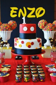 Mickey Mouse 1st Birthday Party via Kara's Party Ideas | Kara'sPartyIdeas.com #MickeyMouseClubhouse #Party #Ideas #Supplies (22)