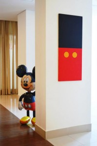 Mickey Mouse 1st Birthday Party via Kara's Party Ideas   Kara'sPartyIdeas.com #MickeyMouseClubhouse #Party #Ideas #Supplies (13)
