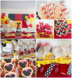 Mickey Mouse Party with LOTS of CUTE Ideas via Kara's Party Ideas | Kara'sPartyIdeas.com #MinnieMouse #Party #Ideas #Supplies (1)