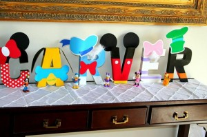Mickey Mouse Clubhouse Party via Kara's Party Ideas Kara'sPartyIdeas.com #MickeyMouse #MinnieMouse #PartyIdeas #Supplies (14)