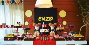Mickey Mouse 1st Birthday Party via Kara's Party Ideas | Kara'sPartyIdeas.com #MickeyMouseClubhouse #Party #Ideas #Supplies (34)