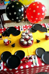 Mickey Mouse Clubhouse Party via Kara's Party Ideas Kara'sPartyIdeas.com #MickeyMouse #MinnieMouse #PartyIdeas #Supplies (2)