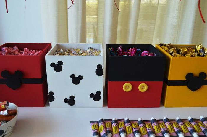 Karas Party Ideas Mickey Mouse 1st Birthday Party via Karas