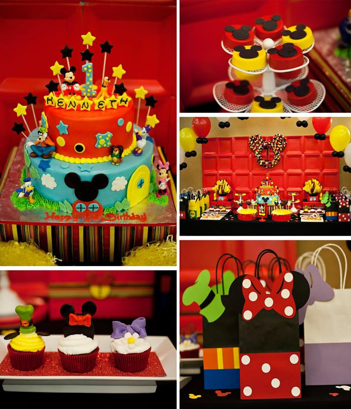 Mickey Mouse Clubhouse Party Ideas 1st Birthday Party City Hours