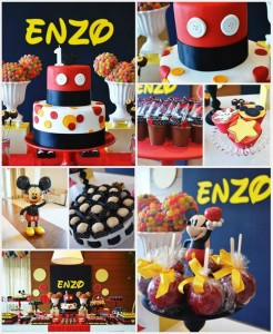 Mickey Mouse 1st Birthday Party Full of Cute Ideas via Kara's Party Ideas | Kara'sPartyIdeas.com #MickeyMouseClubhouse #Party #Ideas #Supplies (1)