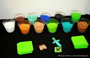 Minecraft Party via Kara's Party Ideas Kara'sPartyIdeas.com #Minecraft #PartyIdeas #Supplies #TweenParty #Games (9)