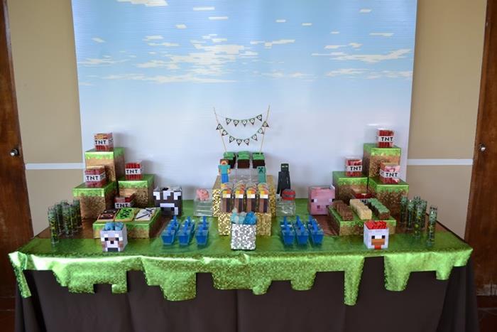 mine craft party supplies birthday party ideas