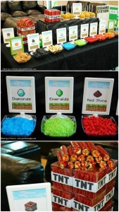Minecraft Party with AWESOME Ideas via Kara's Party Ideas Kara'sPartyIdeas.com #Minecraft #PartyIdeas #Supplies #TweenParty #Games (1)