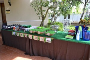 Minecraft Themed Birthday Party via Kara's Party Ideas Kara'sPartyIdeas.com #Gamer #Gaming #PartyIdeas #Supplies (6)