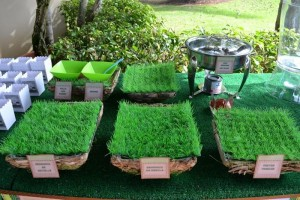 Minecraft Themed Birthday Party via Kara's Party Ideas Kara'sPartyIdeas.com #Gamer #Gaming #PartyIdeas #Supplies (5)