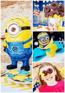 Despicable Me Minion Playdate Party with TONS of ideas via Kara's Party Ideas #minions #Playdate #DespicableMe #PartyIdea #PartyDecorations