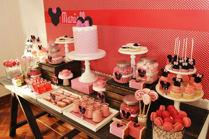 Vintage Minnie Mouse Party Via Karas Ideas