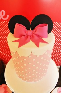 Vintage Minnie Mouse Party via Kara's Party Ideas | Kara'sPartyIdeas.com #Vintage #MickeyMouse #Party #Idea #Supplies (22)