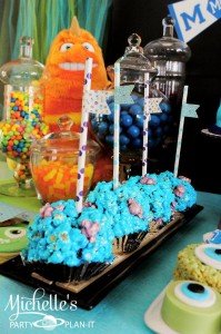 Monster's University Back To School Party via Kara's Party Ideas | Kara'sPartyIdeas.com #Monster'sInc. #Disney #Partyideas #Supplies (17)