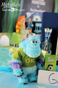 Monster's University Back To School Party via Kara's Party Ideas | Kara'sPartyIdeas.com #Monster'sInc. #Disney #Partyideas #Supplies (13)