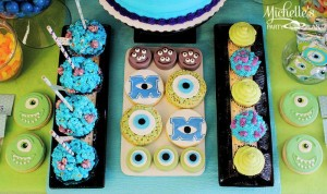 Monster's University Back To School Party via Kara's Party Ideas | Kara'sPartyIdeas.com #Monster'sInc. #Disney #Partyideas #Supplies (10)