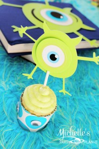 Monster's University Back To School Party via Kara's Party Ideas | Kara'sPartyIdeas.com #Monster'sInc. #Disney #Partyideas #Supplies (9)