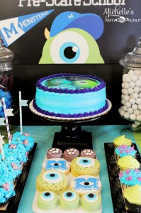Monster's University Back To School Party via Kara's Party Ideas | Kara'sPartyIdeas.com #Monster'sInc. #Disney #Partyideas #Supplies (8)