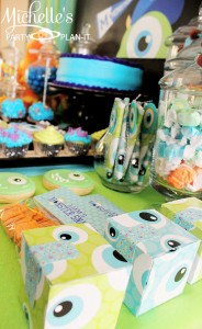 Monster's University Back To School Party via Kara's Party Ideas | Kara'sPartyIdeas.com #Monster'sInc. #Disney #Partyideas #Supplies (4)